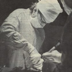 Historical vignette.The first brain surgery performed by the first woman neurosurgeon in Romania, Dr Sofia Ionescu-Ogrezeanu